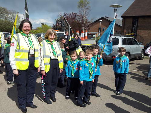 St Georges Day Parade 2012