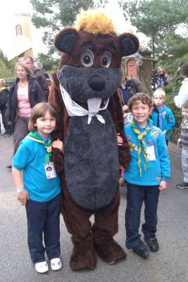 Meeting the Beaver at South East Region Trip to Legoland