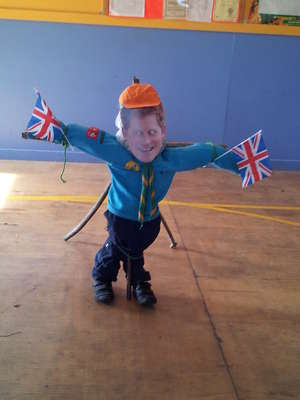Scarecrow Beaver Scout Prince Harry