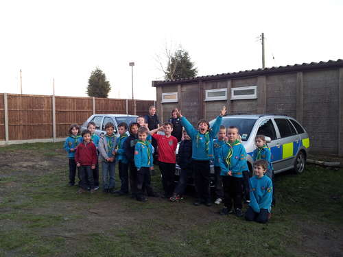 We got to meet the Local PCSOs!